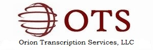 Orion Transcription Services