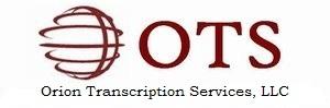 Orion Transcription Services